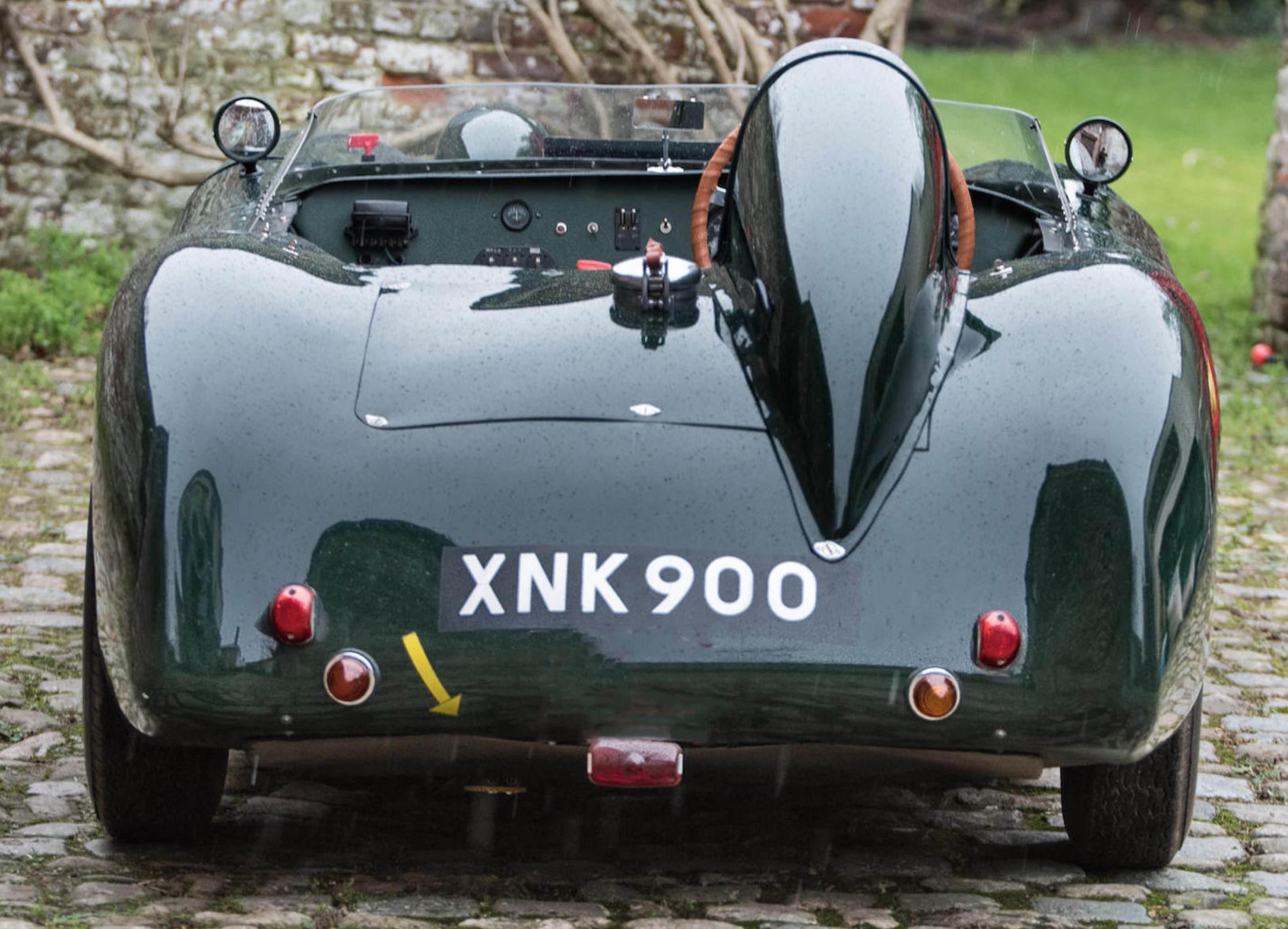 The Rare Tojeiro-Butterworth AJB Air-Cooled Racing Car