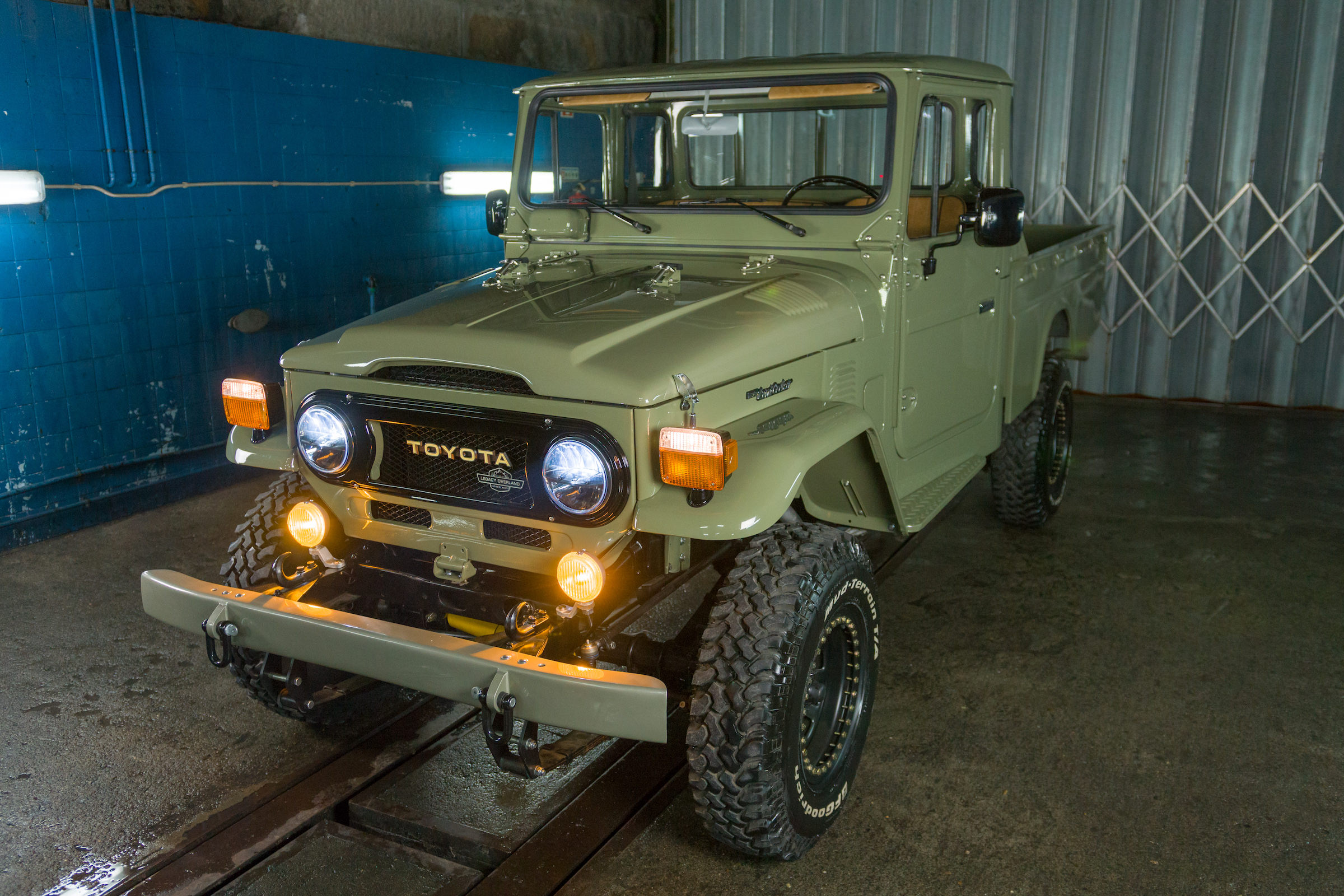 Toyota Hj 45 >> 1978 Toyota Land Cruiser HJ45 Long Bed Pick-Up Truck