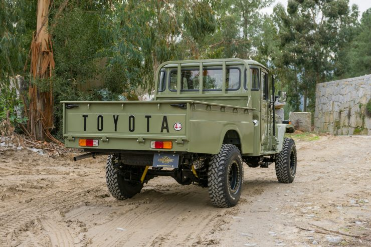 Toyota Land Cruiser HJ 45 8 740x493 - 1978 Toyota Land Cruiser HJ45 Long Bed Pick-Up Truck