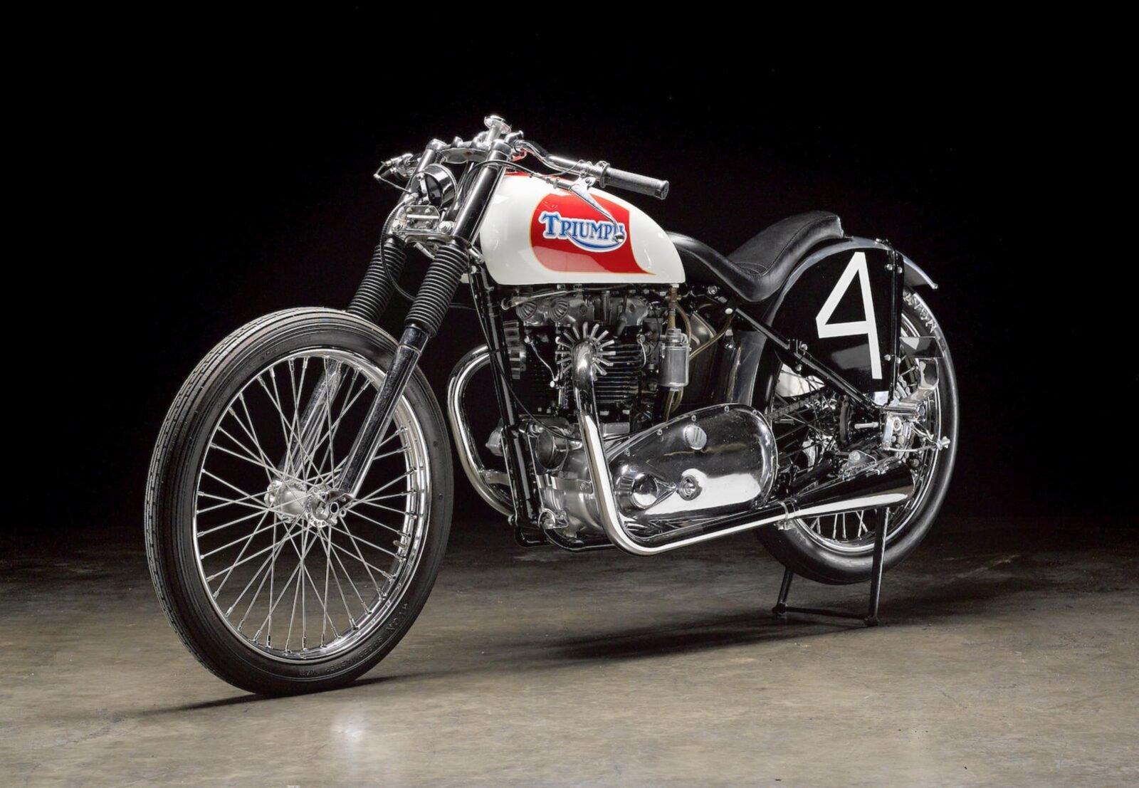 Triumph Bonneville Motorcycle 1600x1107 - 1951 Triumph 6T Thunderbird - Salt Flat Racer
