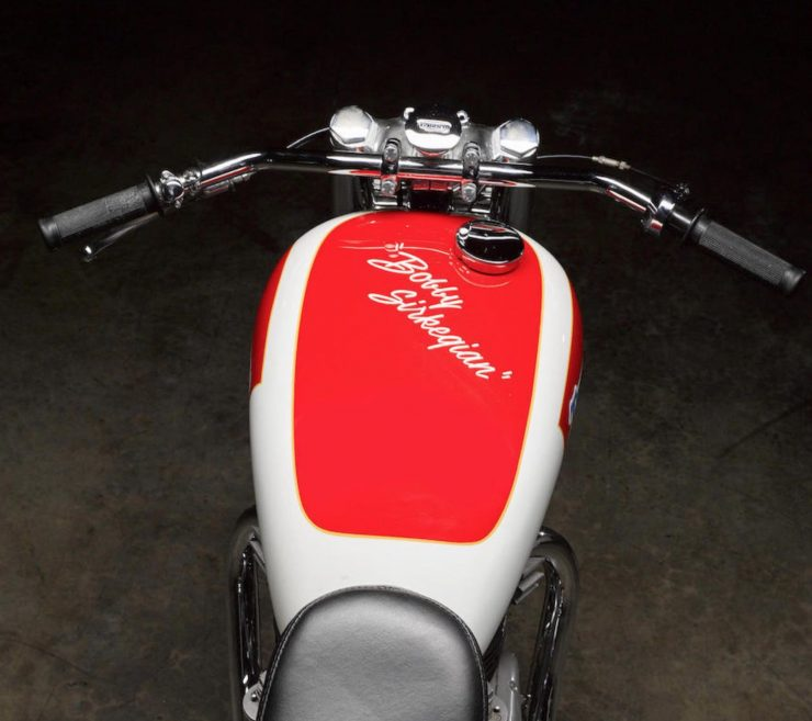 Triumph Bonneville Motorcycle 3 740x657 - 1951 Triumph 6T Thunderbird - Salt Flat Racer