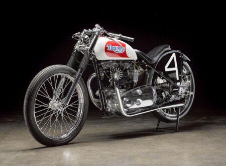 Triumph Bonneville Motorcycle 450x330 - 1951 Triumph 6T Thunderbird - Salt Flat Racer