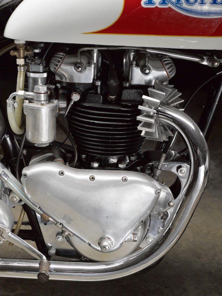Triumph Bonneville Motorcycle 5 740x989 - 1951 Triumph 6T Thunderbird - Salt Flat Racer