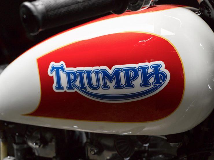 Triumph Bonneville Motorcycle 6 740x554 - 1951 Triumph 6T Thunderbird - Salt Flat Racer