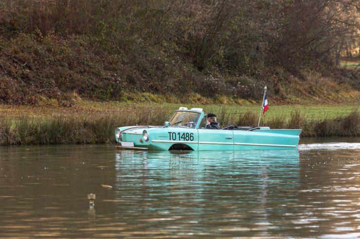 amphibious classic car amphicar 3 740x492 - An Amphibious Classic: The 1963 Amphicar 770