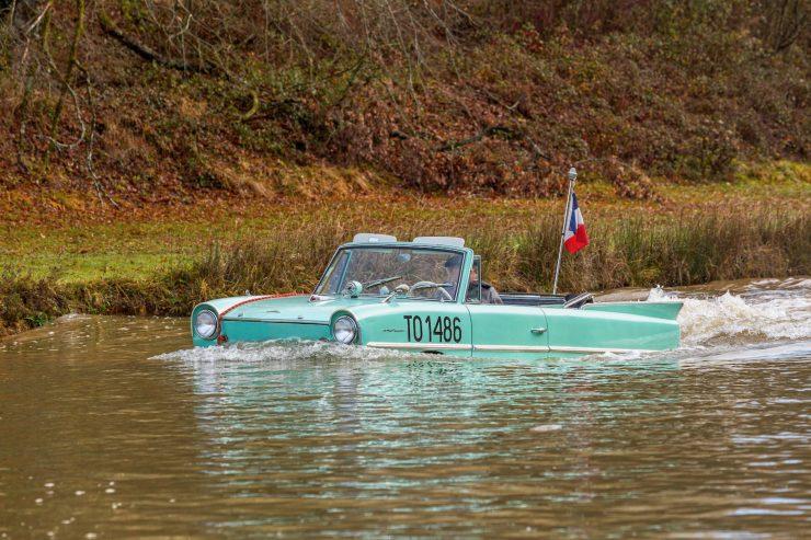 amphibious classic car amphicar 4 740x493 - An Amphibious Classic: The 1963 Amphicar 770