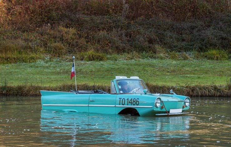 amphibious classic car amphicar 6 740x470 - An Amphibious Classic: The 1963 Amphicar 770