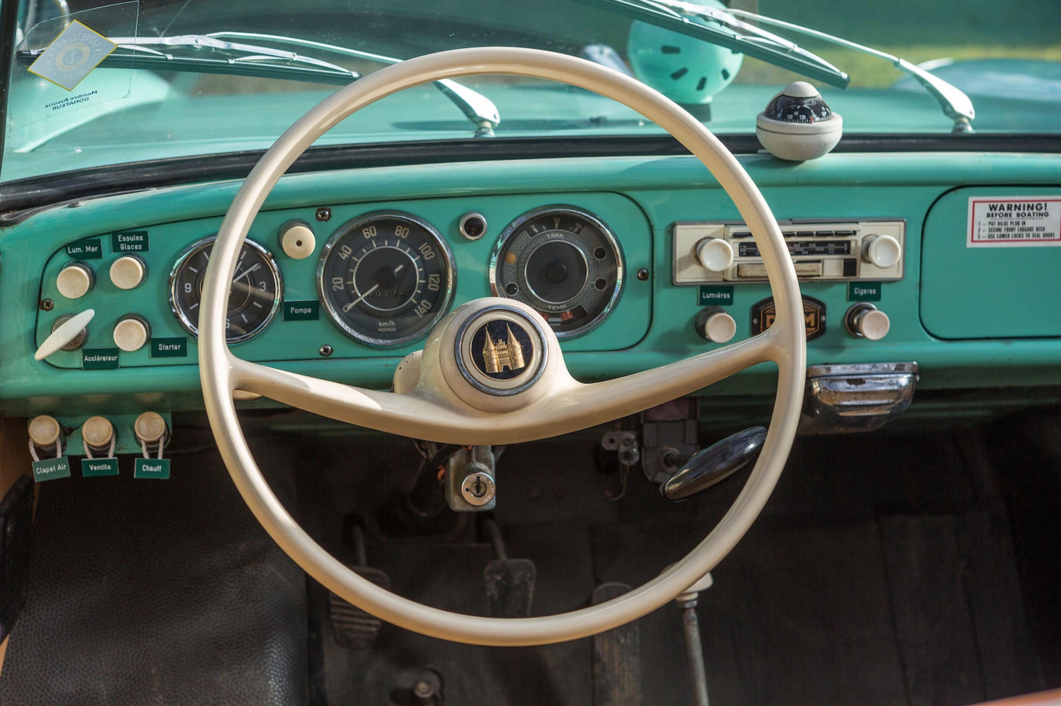 An Amphibious Classic: The 1963 Amphicar 770