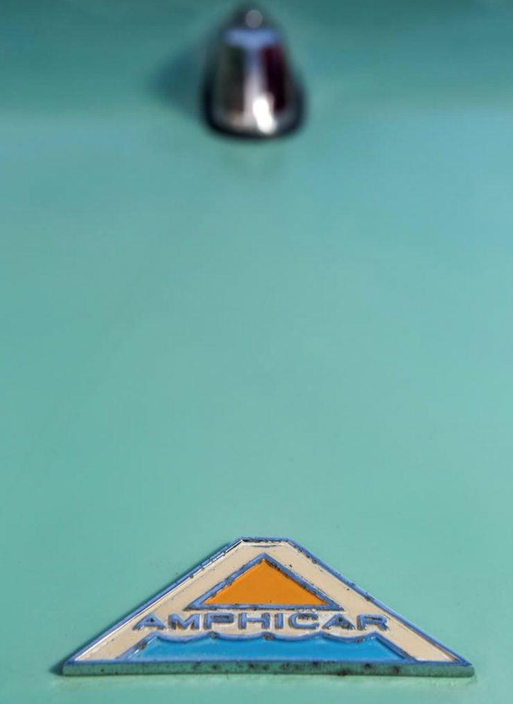 amphibious classic car amphicar badge 740x1016 - An Amphibious Classic: The 1963 Amphicar 770