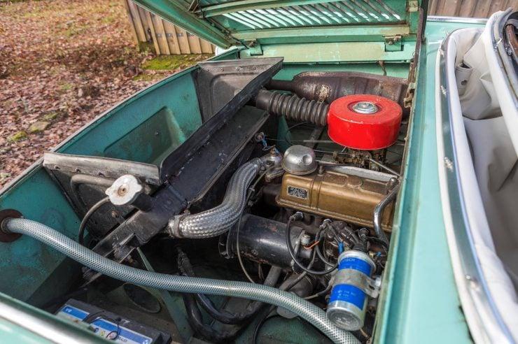 amphibious classic car amphicar engine 2 740x492 - An Amphibious Classic: The 1963 Amphicar 770