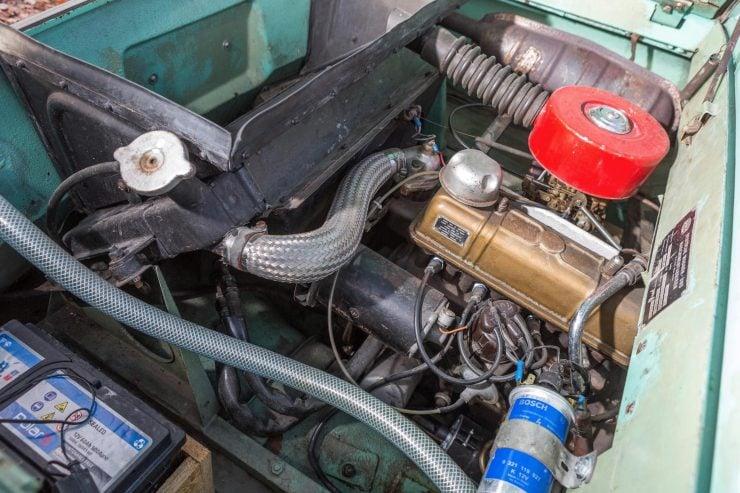 amphibious classic car amphicar engine 740x493 - An Amphibious Classic: The 1963 Amphicar 770