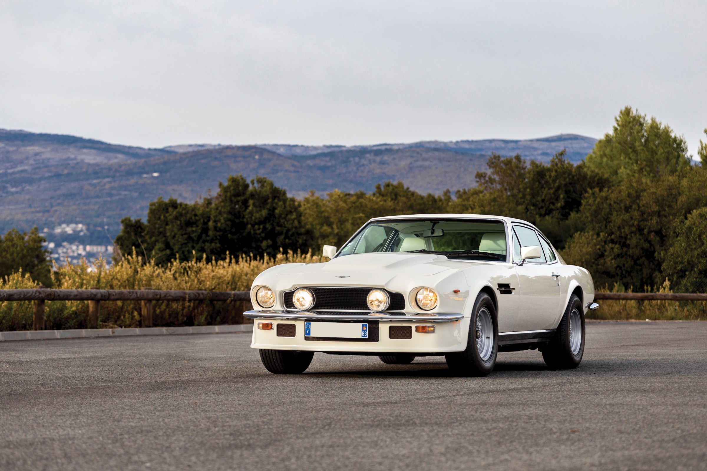 The Aston Martin V8 Vantage Oscar India Shown Here