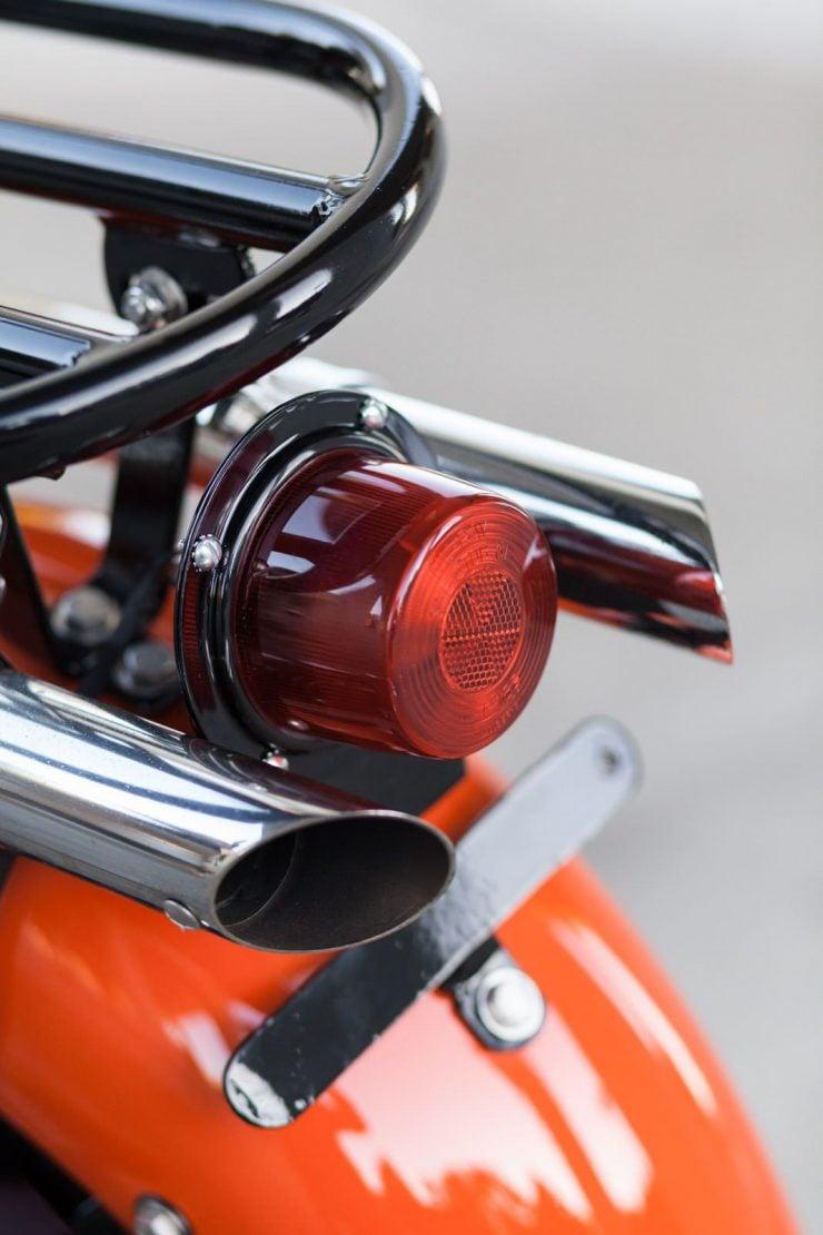 cushman motor scooter 1 740x1110 - American Icon: The 1955 Cushman Eagle