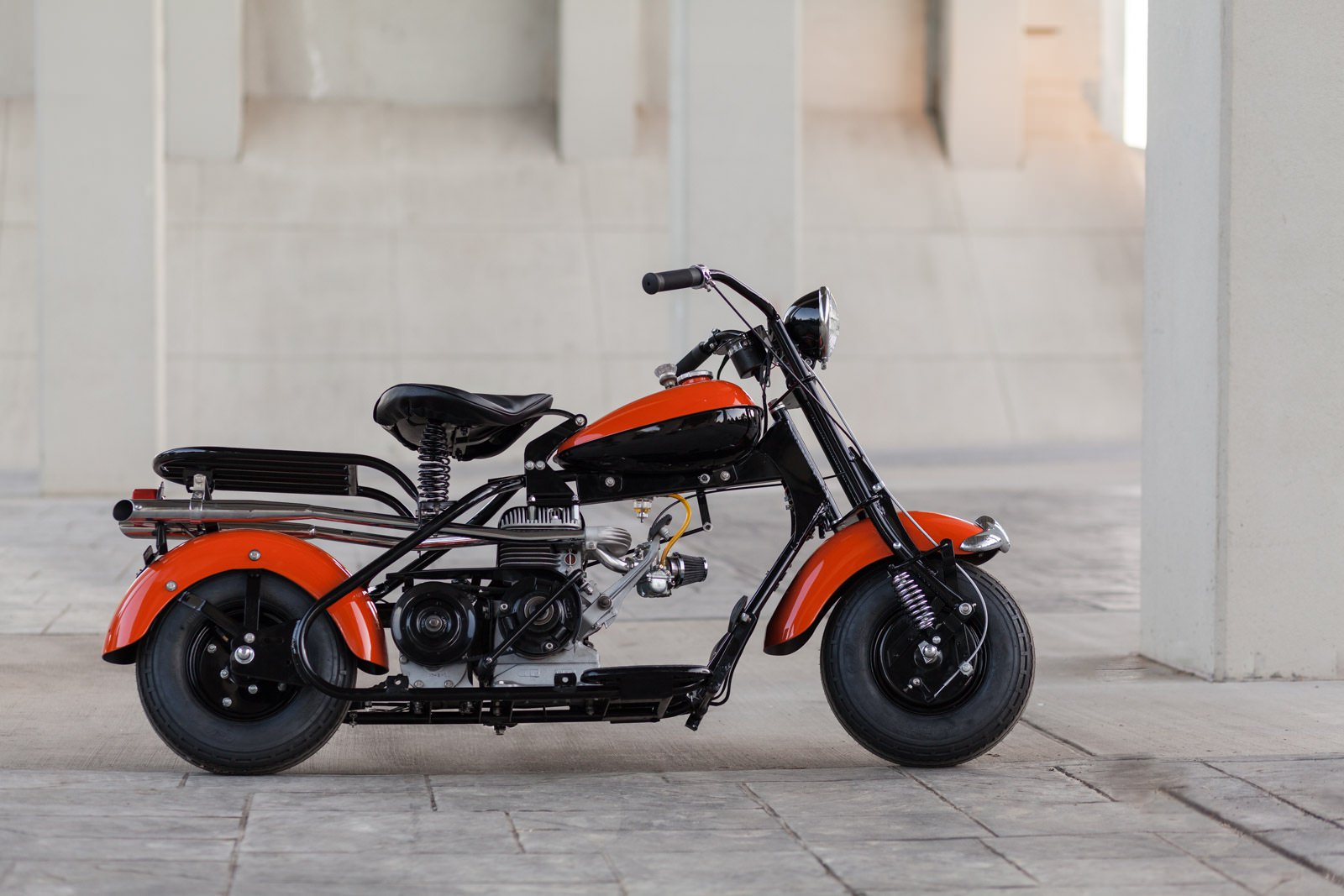 An American Icon The Story Of The Cushman Eagle Motor Scooter