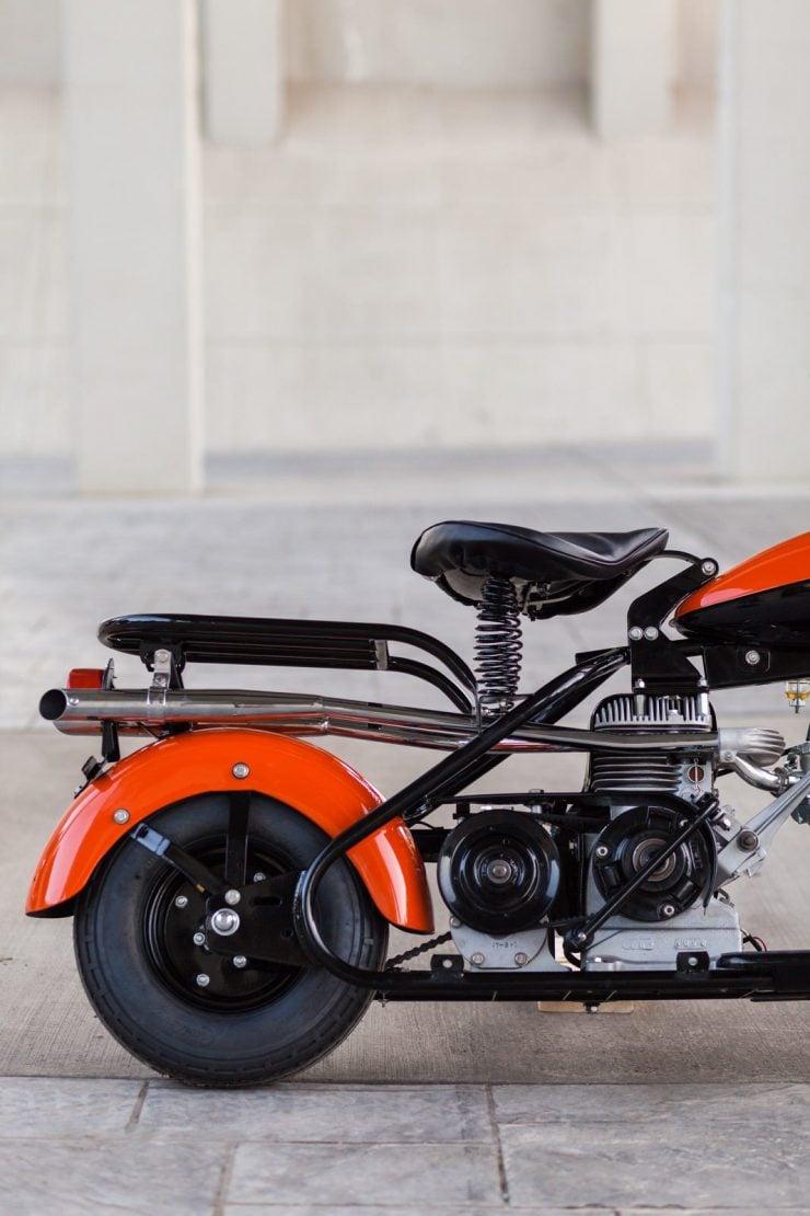 cushman motor scooter 15 740x1110 - American Icon: The 1955 Cushman Eagle