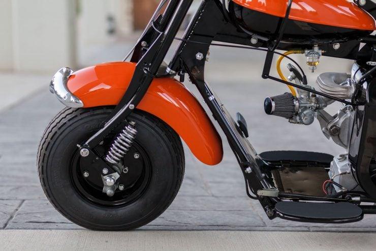 cushman motor scooter 17 740x493 - American Icon: The 1955 Cushman Eagle