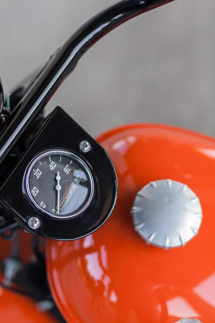 cushman motor scooter 4 740x1110 - American Icon: The 1955 Cushman Eagle