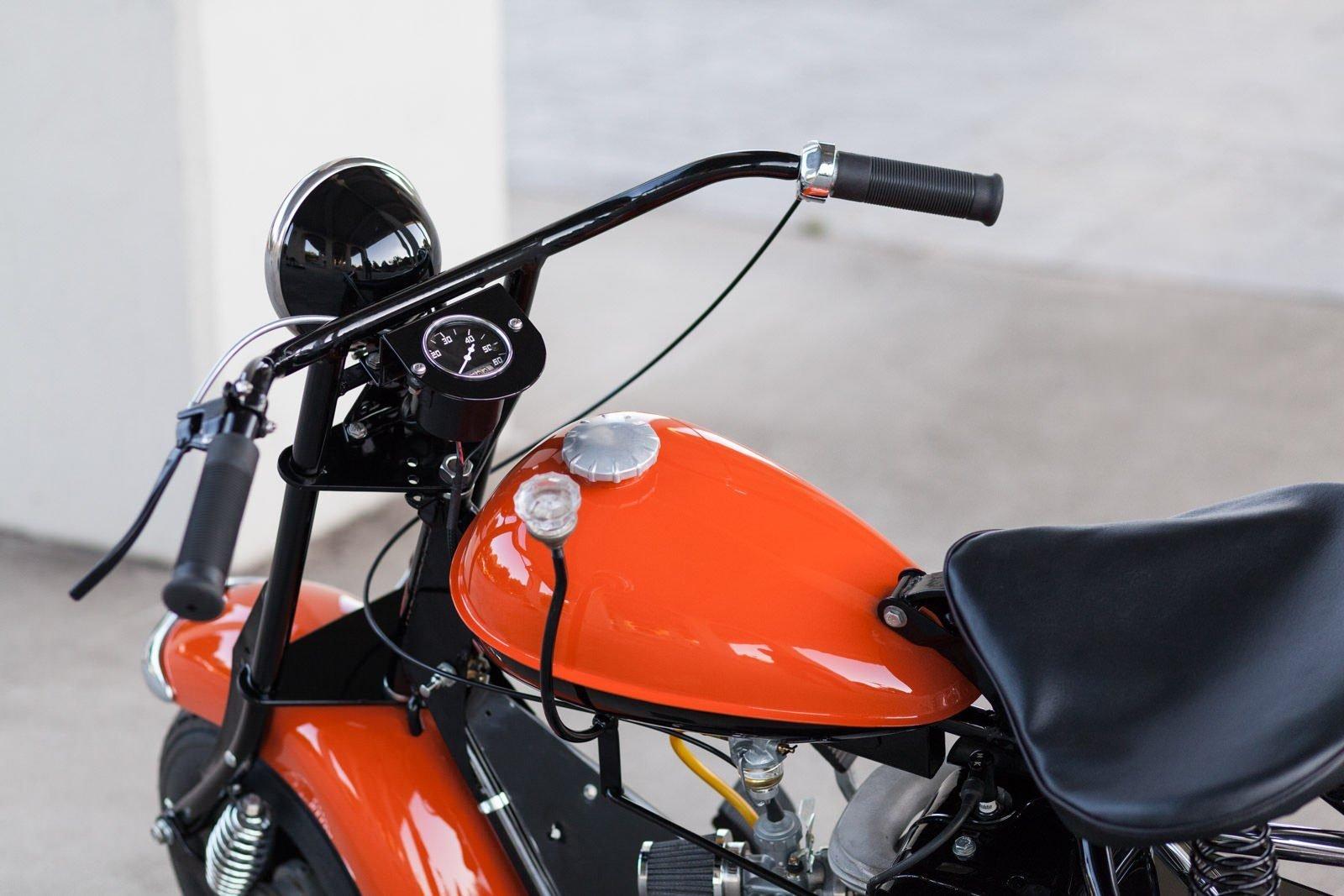 cushman motor scooter 8 1600x1067 - American Icon: The 1955 Cushman Eagle