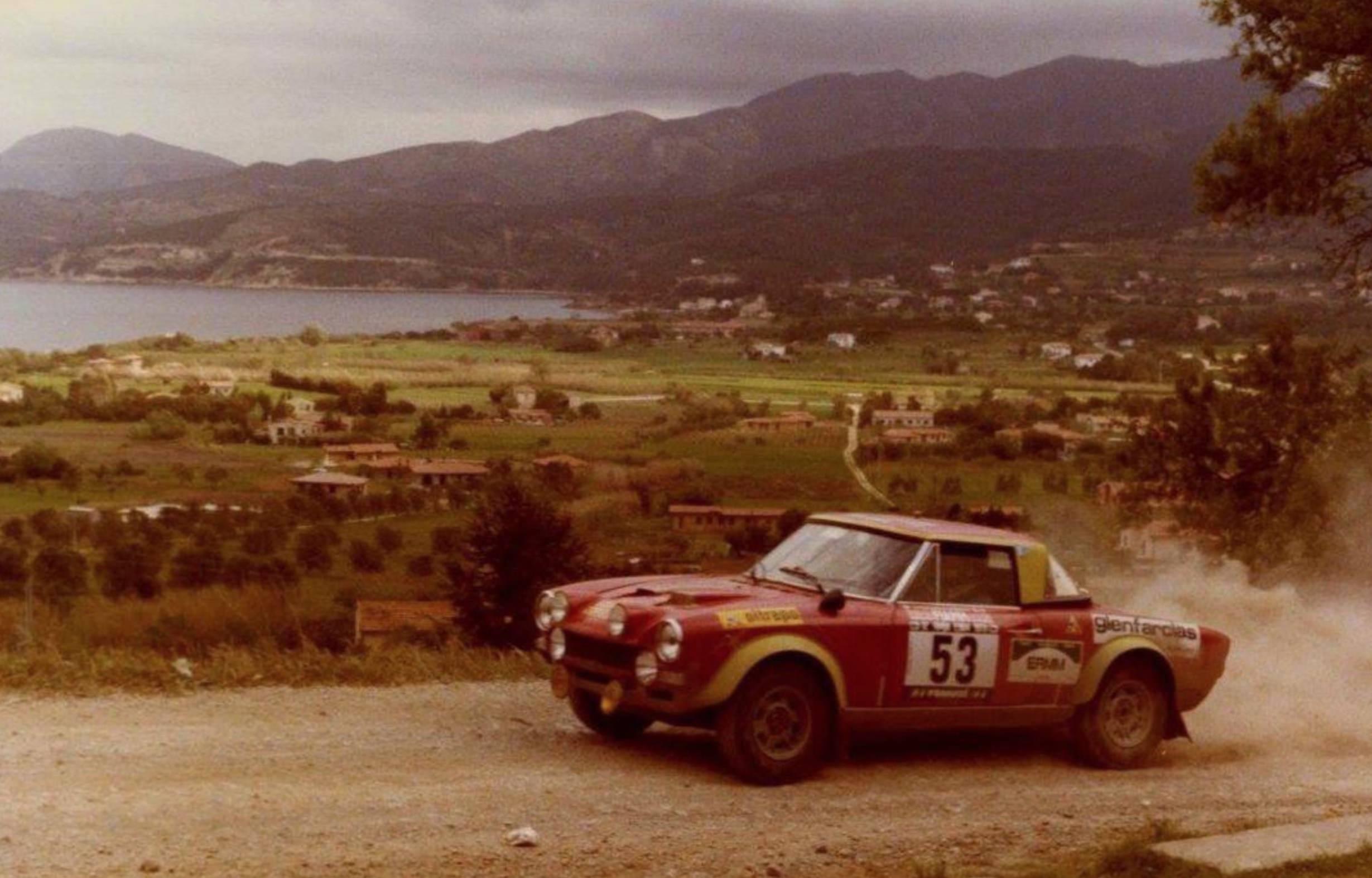 Ex Works 1975 Fiat Abarth 124 Rallye Group 4 Spider