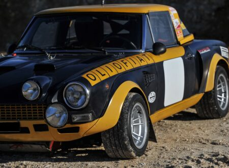 fiat 124 abarth 6 450x330 - Ex-Works 1975 Fiat Abarth 124 Rallye Group 4 Spider