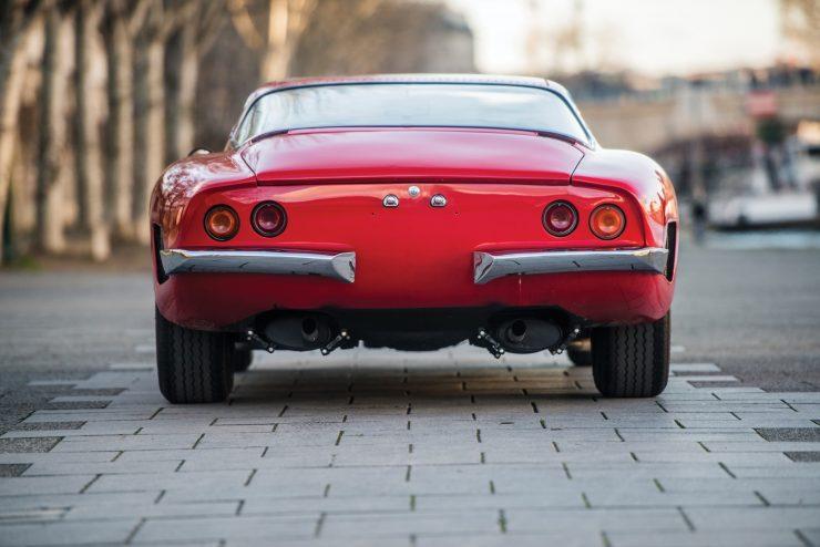 iso grifo a3 c car 22 740x494 - Johnny Hallyday's 1965 Iso Grifo A3/C