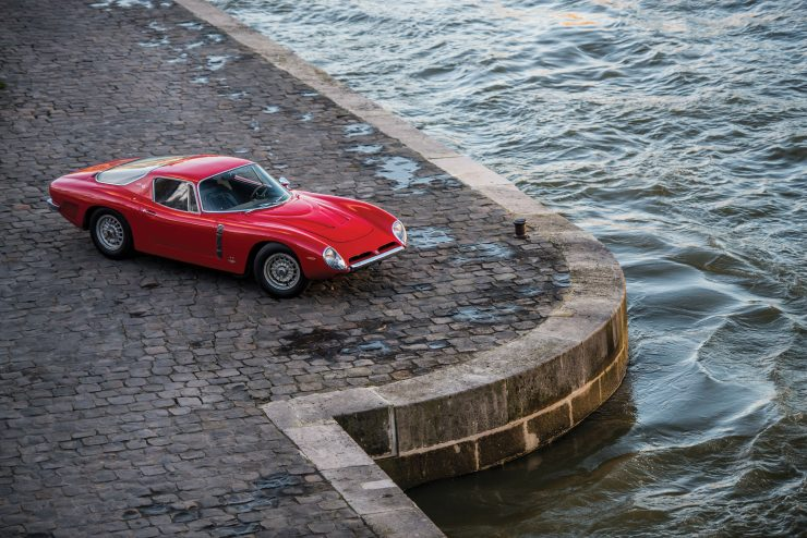 iso grifo a3 c car 27 740x494 - Johnny Hallyday's 1965 Iso Grifo A3/C