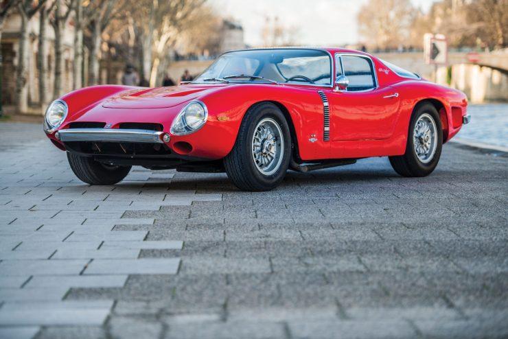 iso grifo a3 c car 7 740x494 - Johnny Hallyday's 1965 Iso Grifo A3/C