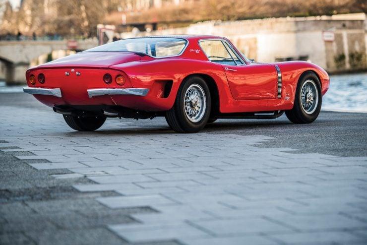 iso grifo a3 c car rear 740x494 - Johnny Hallyday's 1965 Iso Grifo A3/C