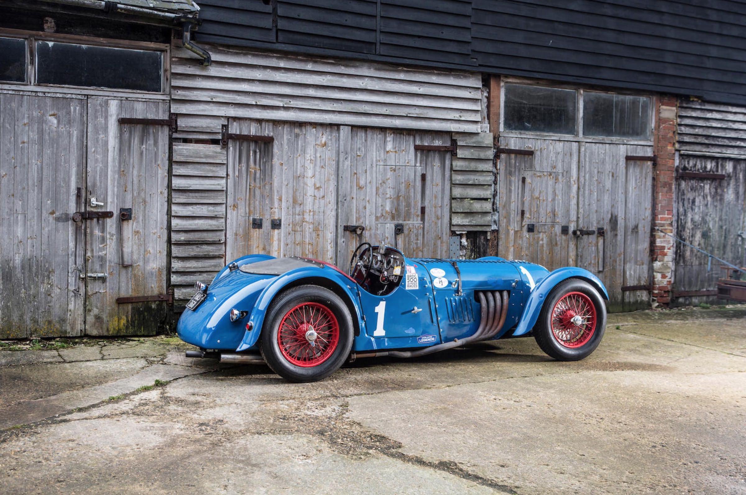 Rare Supercharged British Racer: 1936 2-Litre Alta Sports Car