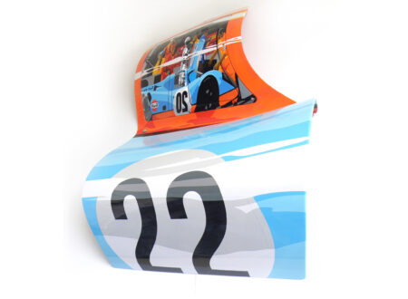 Automotive Art of Joel Clark Porsche 917 Door 450x330 - The Automotive Art of Joel Clark