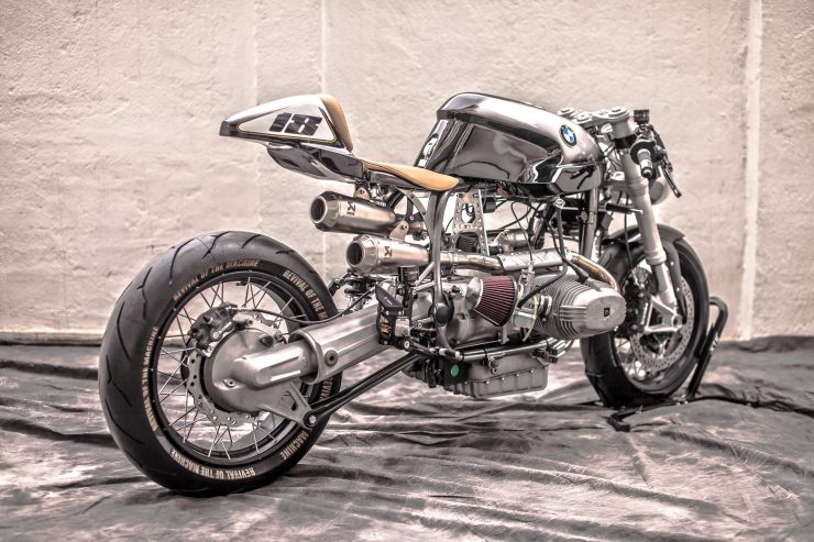 BMW R100 RS Custom Rear Hero