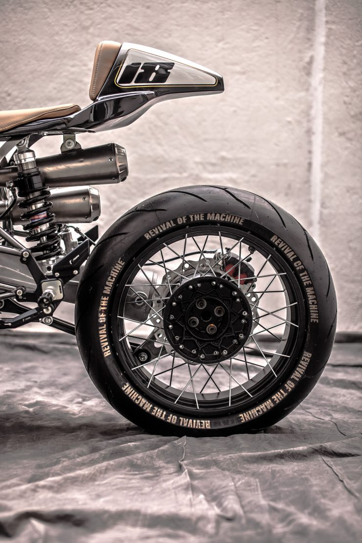 BMW R100 RS Custom Rear Wheel