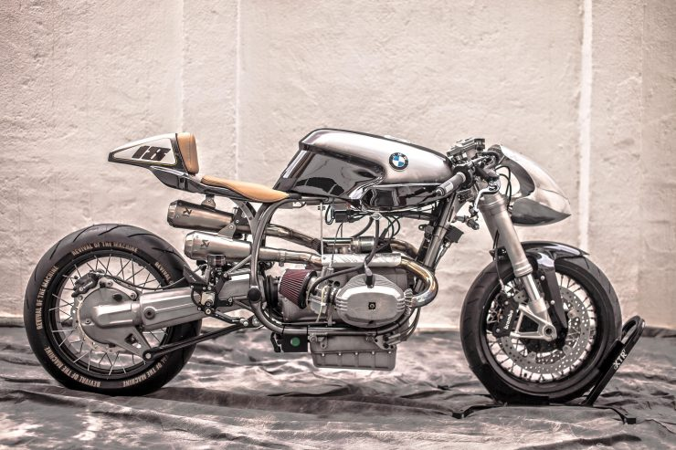 BMW R100 RS Custom Right Side Main