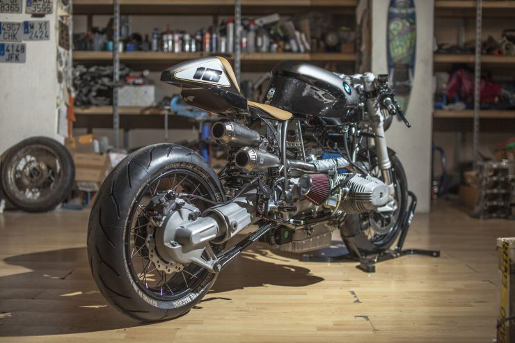 BMW R100 RS Custom Rear Right