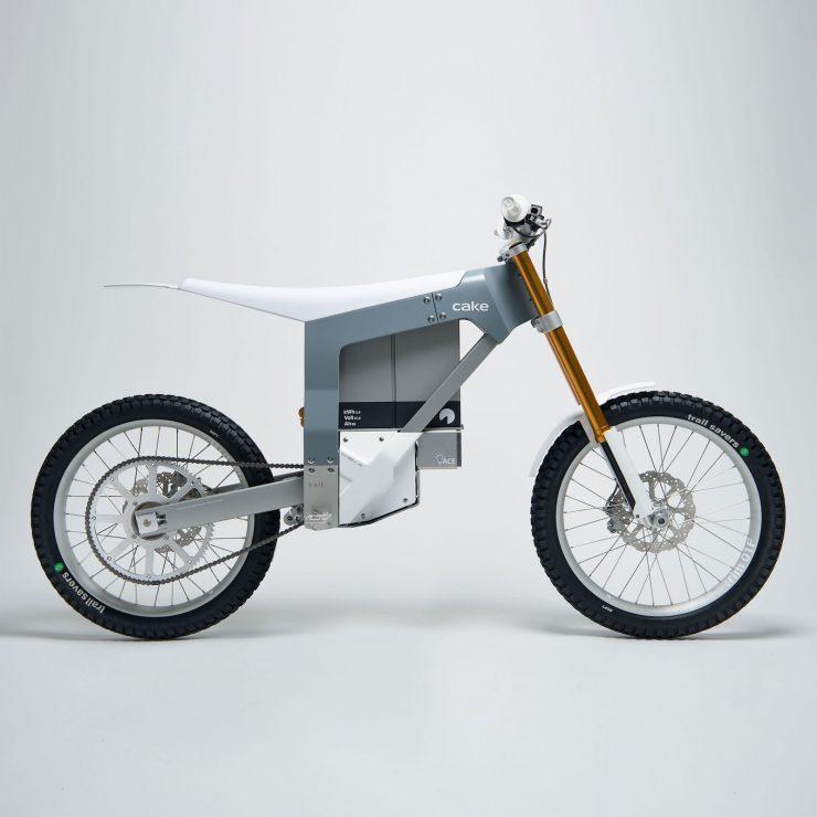Cake Kalk Electric Bike Side Profile 740x740 - A Two-Wheeled Tesla: The CAKE KALK Dual Sport Electric Bike