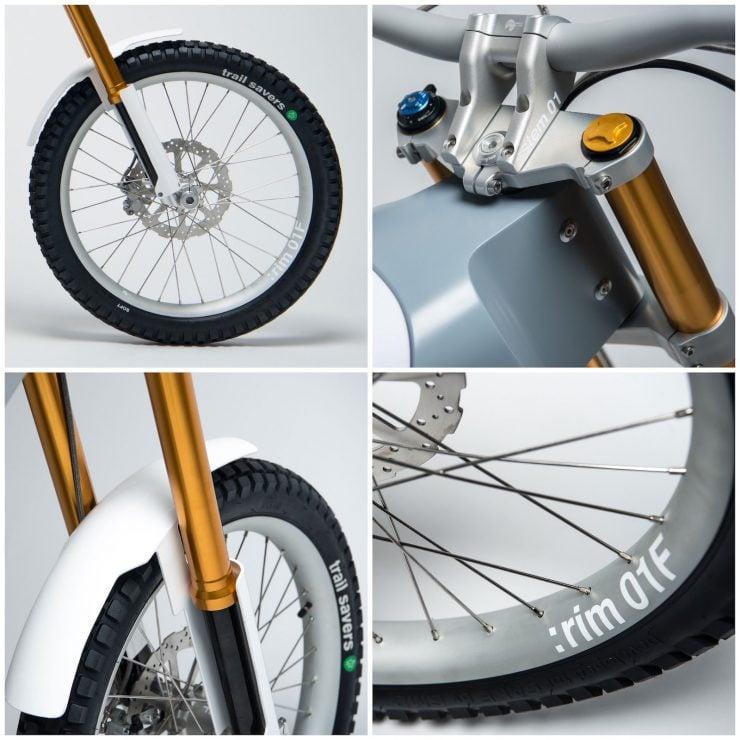 Cake Kalk Electric Bike Suspension 740x740 - A Two-Wheeled Tesla: The CAKE KALK Dual Sport Electric Bike