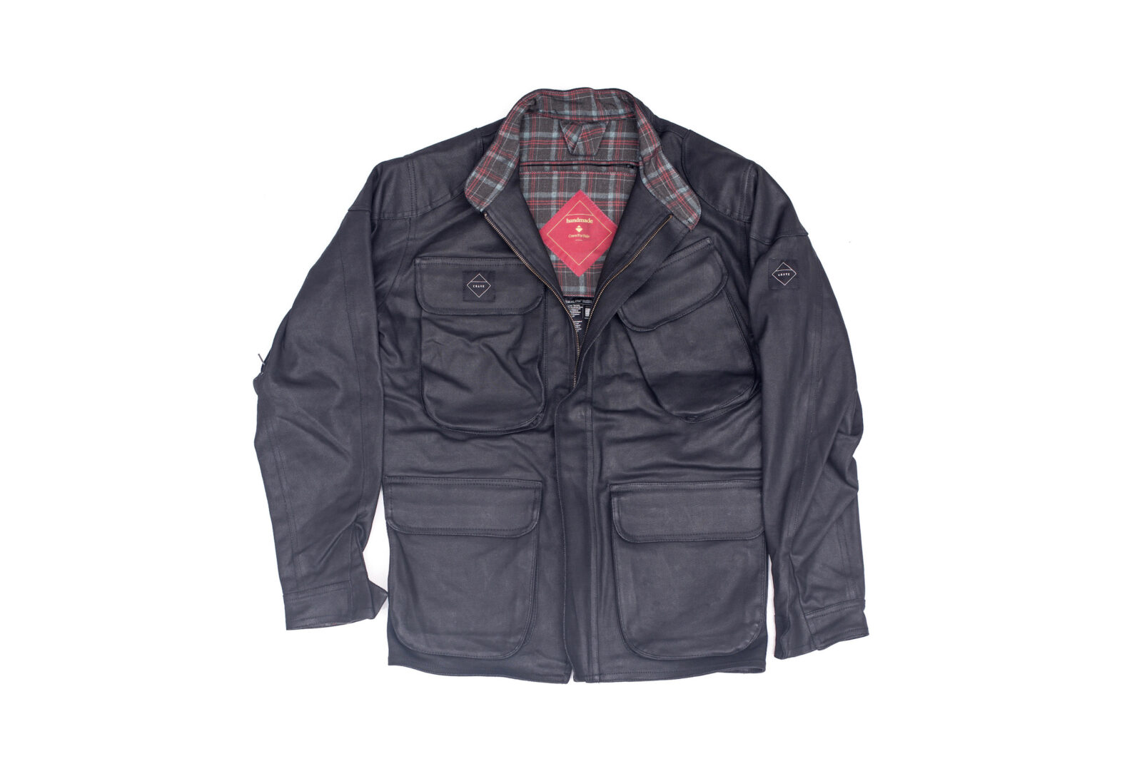 Crave Waxed Trophy Motorcycle Jacket 1600x1095 - Classic Style - Crave Waxed Trophy Motorcycle Jacket