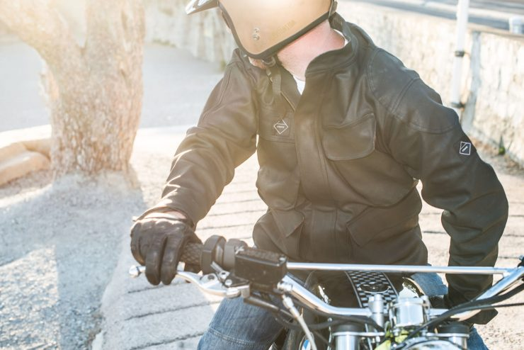 Crave Waxed Trophy Motorcycle Jacket