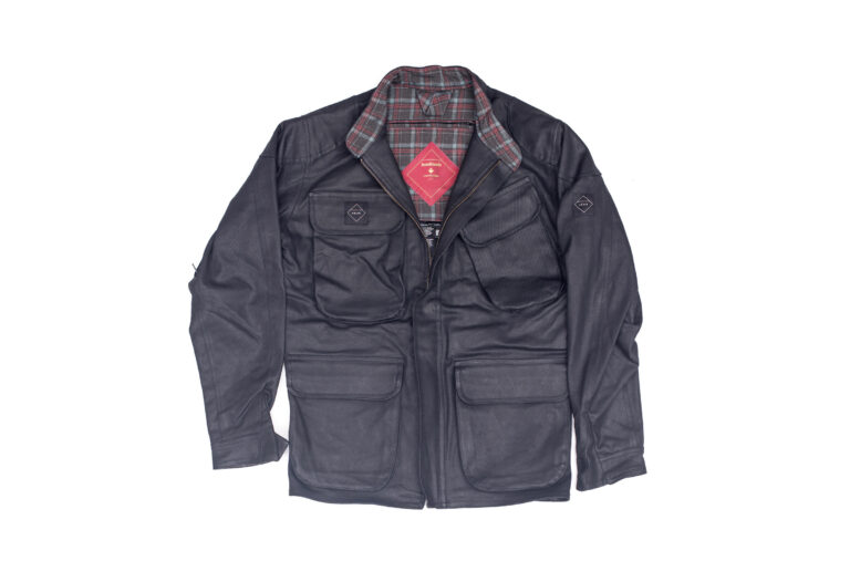Classic Style Crave Waxed Trophy Motorcycle Jacket