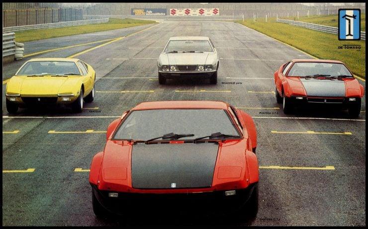 De Tomaso Cars