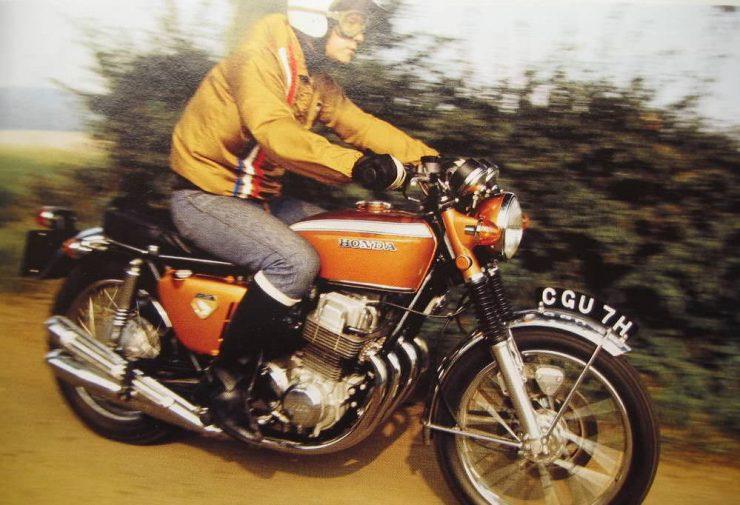 Honda CB750 Sandcast Motorcycle 2