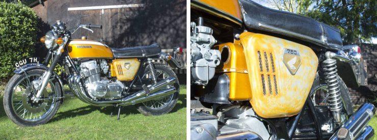 Honda CB750 Sandcast Motorcycle 1