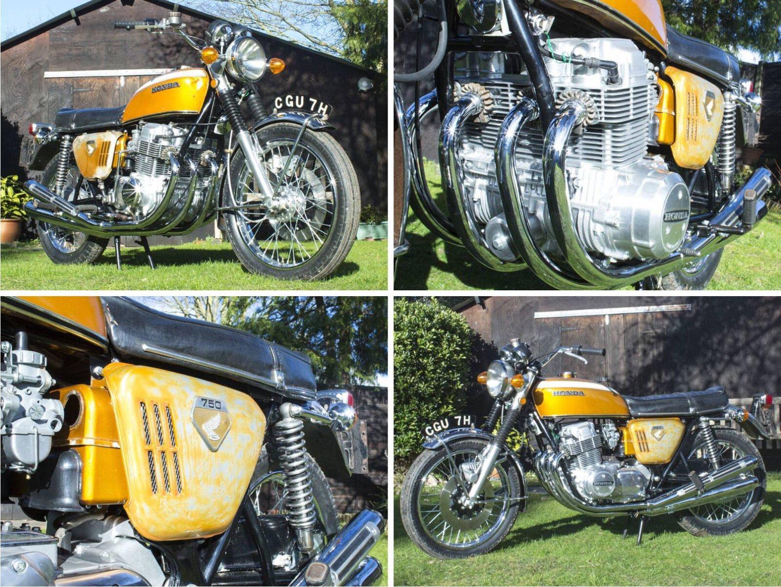 Honda CB750 Sandcast Motorcycle