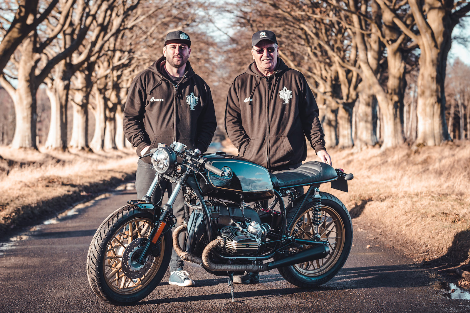 A Clean Bmw R45 Cafe Racer By Scottish Garage Jm Customs