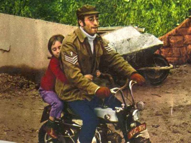 John Lennon's Monkey Bike
