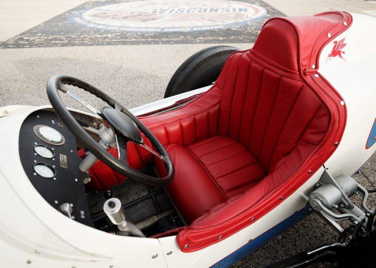 Kurtis KK4000 Offy Indy Race Car Cockpit