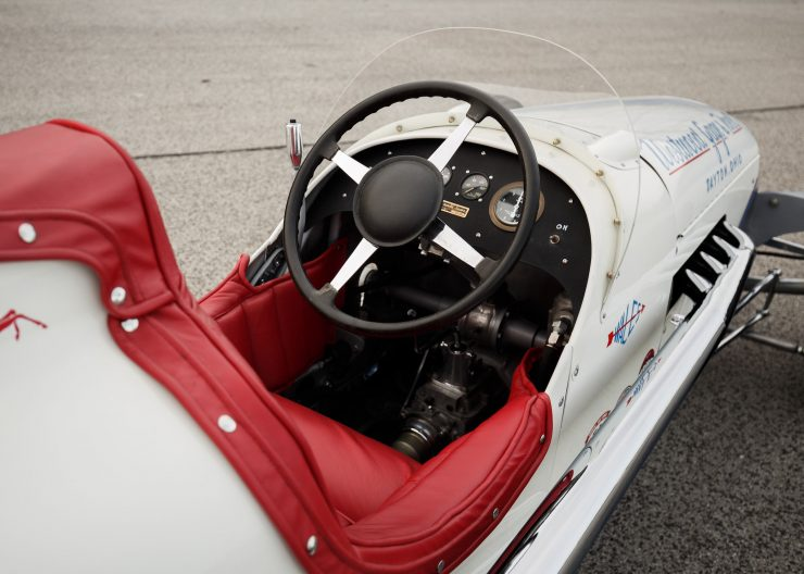 Kurtis KK4000 Offy Indy Race Car Cockpit