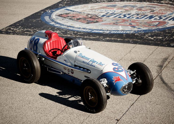 Kurtis KK4000 Offy Indy Race Car Main