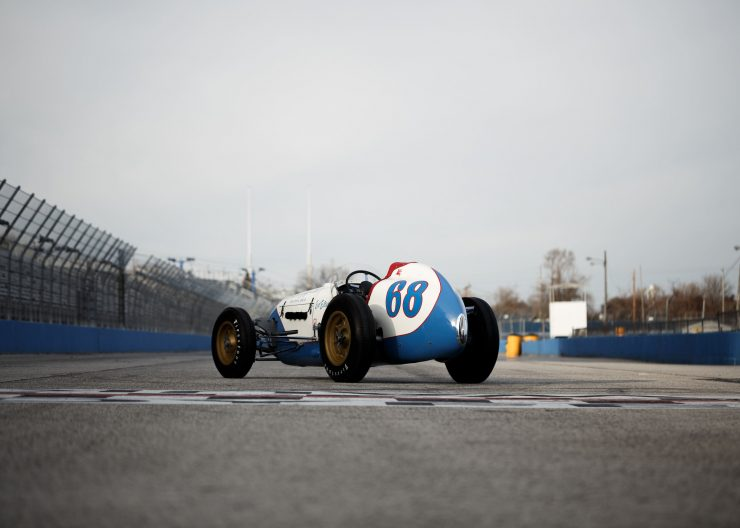 Kurtis Offy Indy Race Car 4 740x528 - An Original 1952 Kurtis KK4000 - A 6-Time Indy 500 Entrant