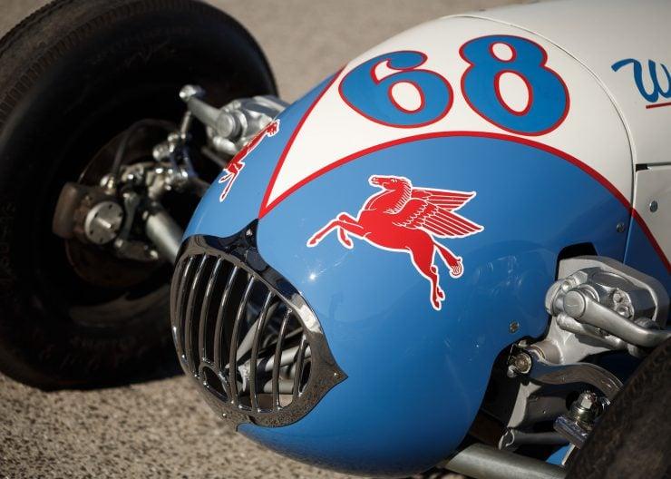 Kurtis KK4000 Offy Indy Race Car Nose